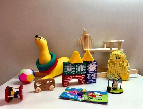Dicas de brinquedos para bebês até 1 ano de idade